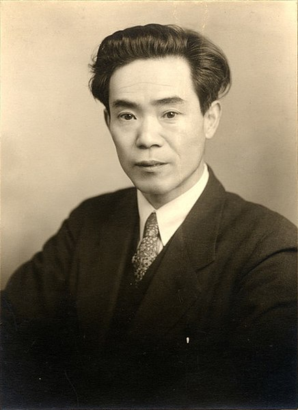 Man in suit and tie, formal portrait